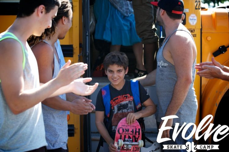 Pickup locations for Evolve Skateboard & Scooter Camps