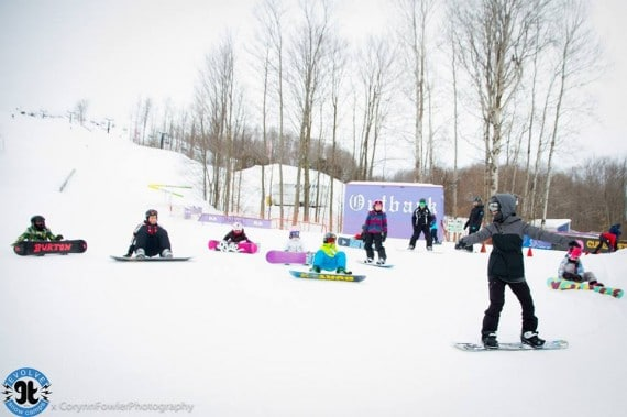Snowboard. Teaching. Coach. Lessons. Learn. Learn to snowboard. Ski School. Toronto. Evolve