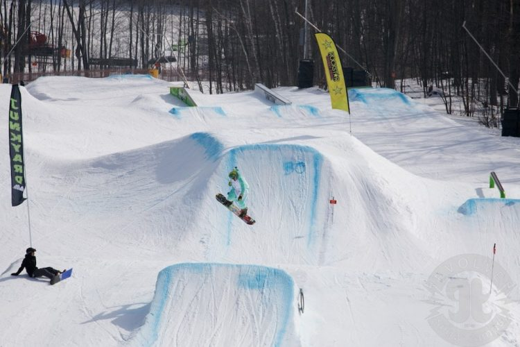 Freestyle Snowboarding Lessons From Evolve Camps