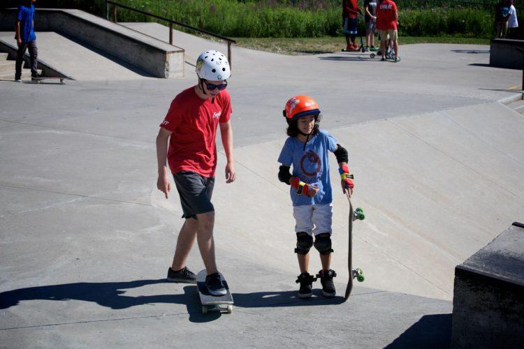 Skateboarding Lessons for Spring 2016