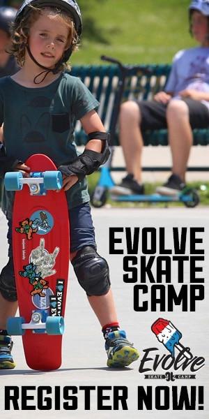 Evolve.Waterloo.skateboarding.camp