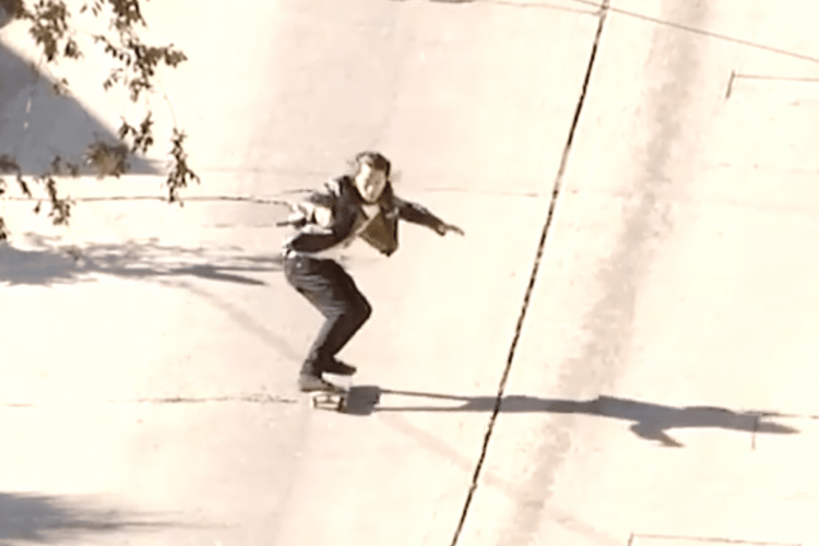 Watch Don Nguyen bomb this massive hill in LA