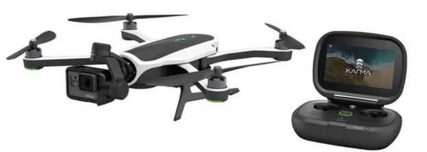 The Karma Drone will be available for $799
