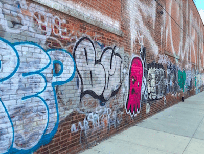 Tagging art is a bit messier than grafitti