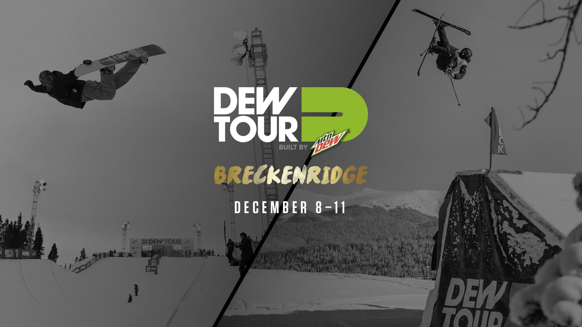 Dew Tour Breckenridge – Athlete and Team Lineup