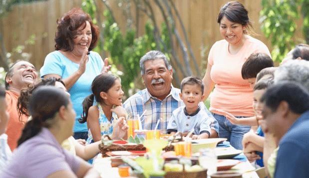 A Chilean Family dinner - Chilean Etiquette