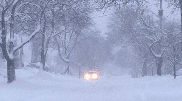 Southern Ontario Snowfall Nov, 20th 2016