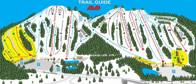 Trail guide for Mount St Louis Moonstone