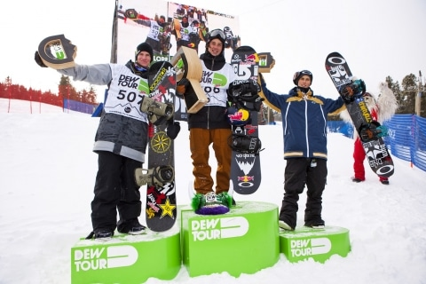 Mark McMorris taking home the gold in 2012 for mens slopestyle