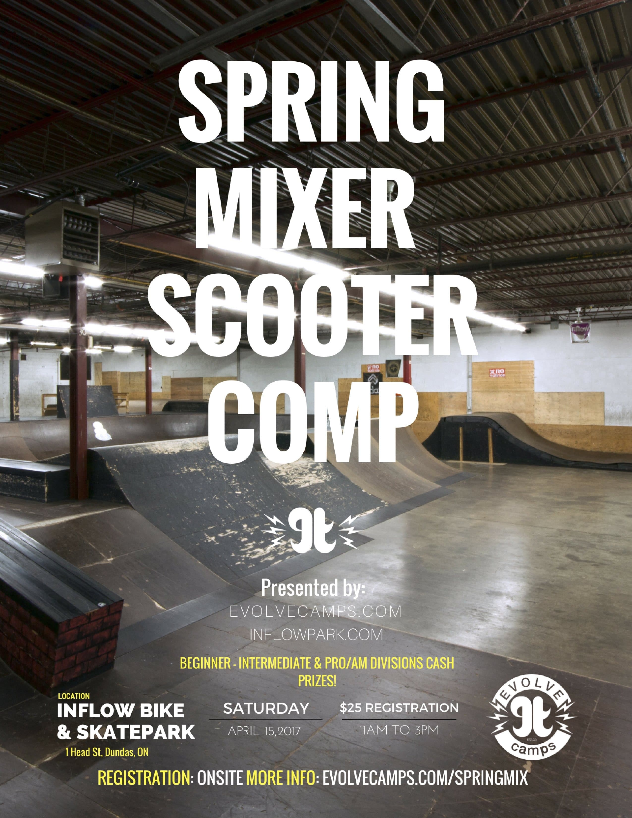 Spring Mixer Scooter Contest