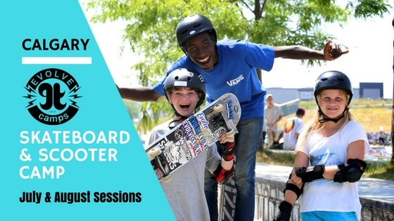 Calgary Skateboarding and Scooter Camps
