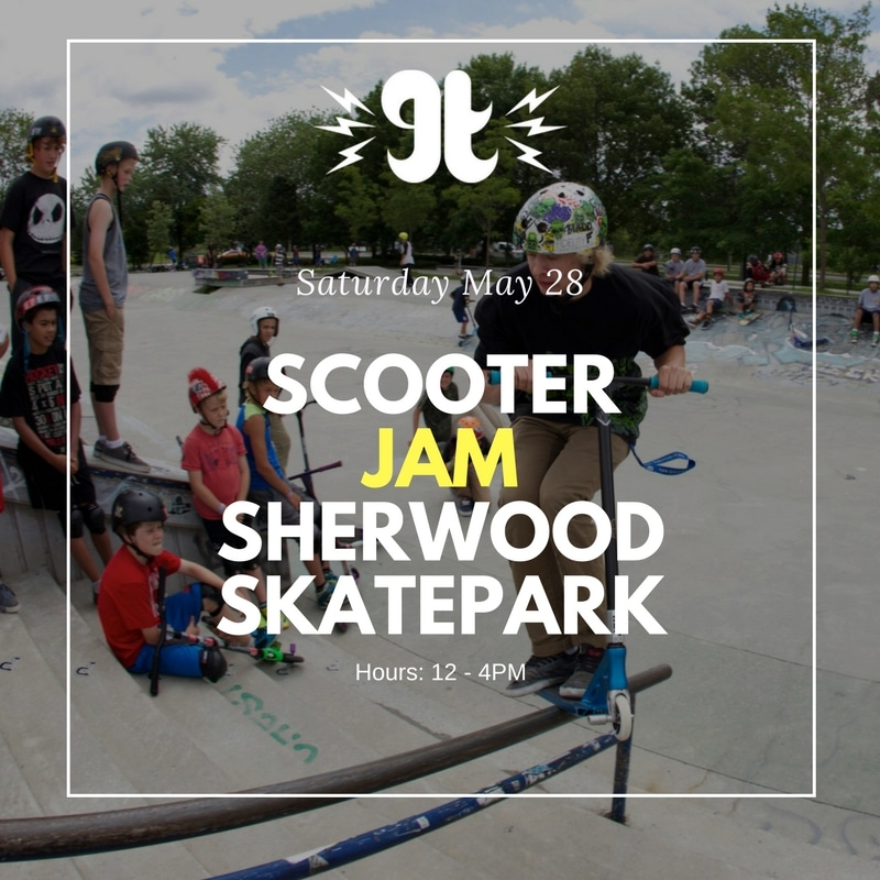 Sherwood Skatepark Scooter Jam