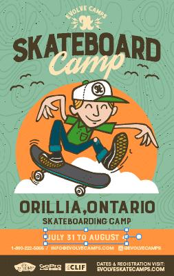 Orillia Skateboarding Camp