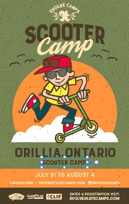 Scooter Camp Orillia