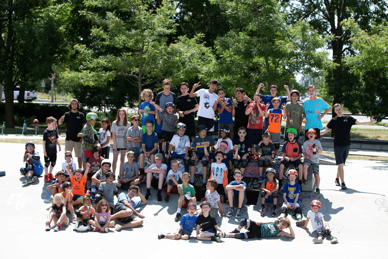 Evolve Skateboard Camp