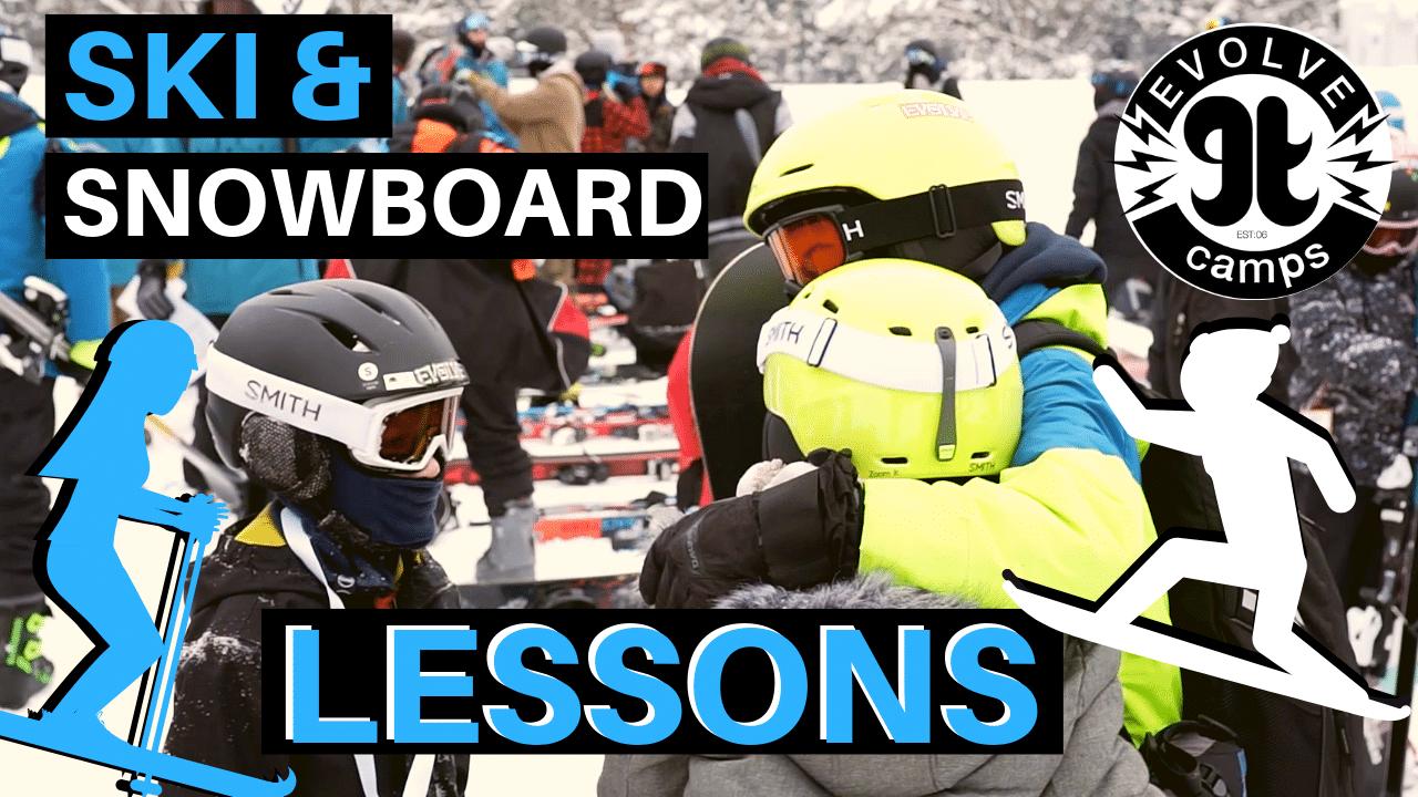 Ski & Snowboard Lessons Video Thumbnail