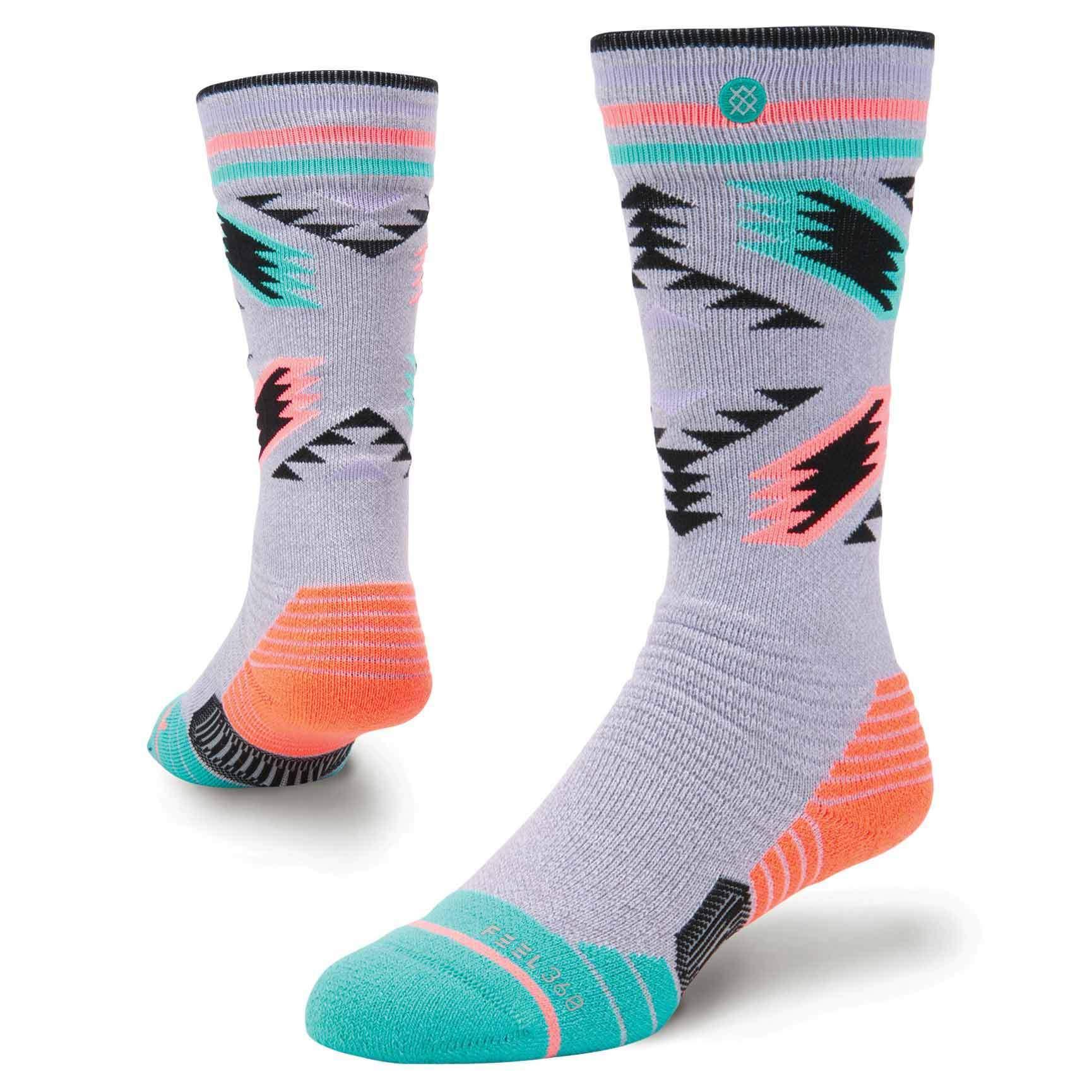 Thermal snow socks.