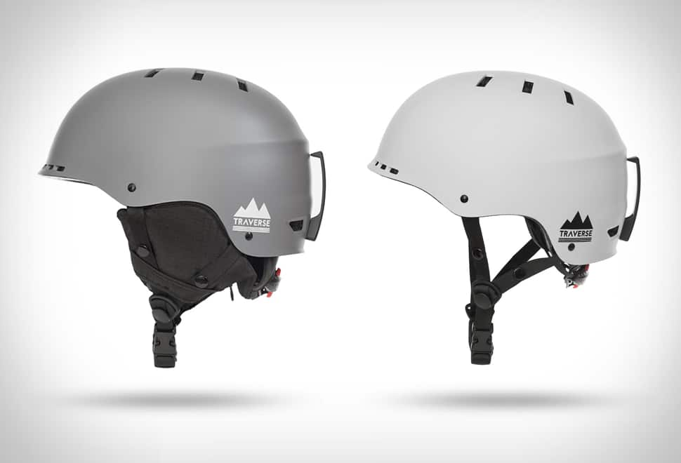 Snowboard helmets.
