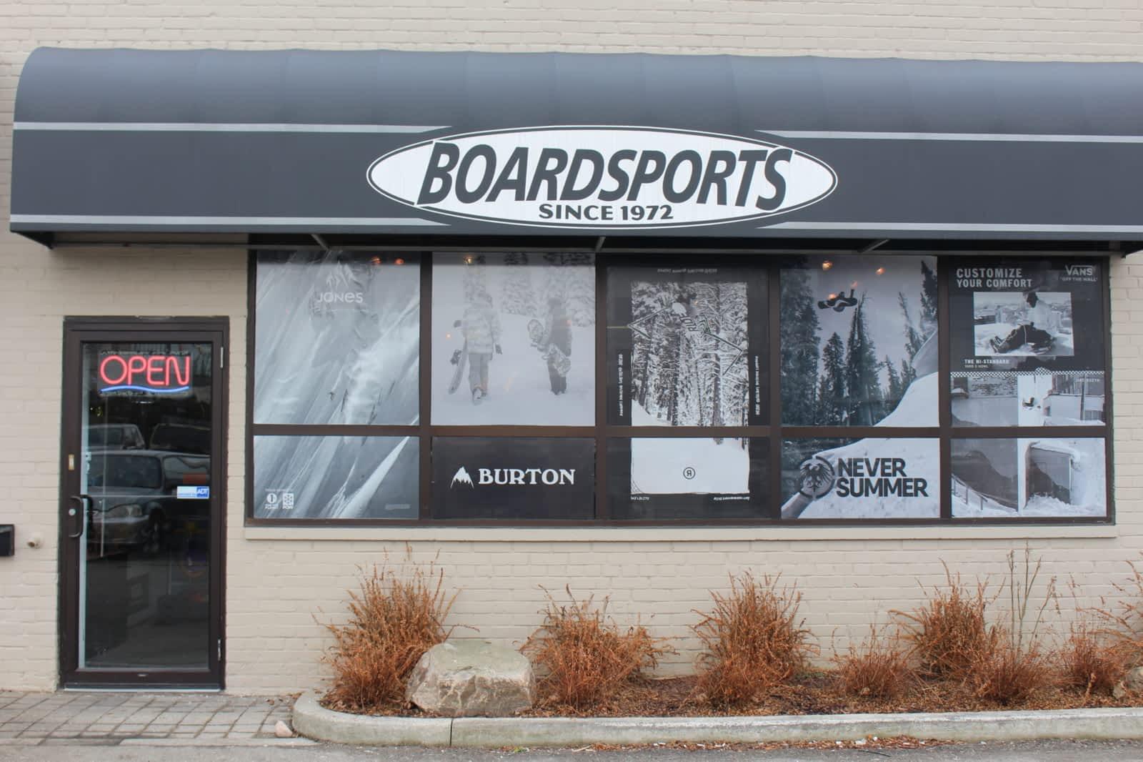 KIDS Boardsports Storefront in Leaside, Toronto