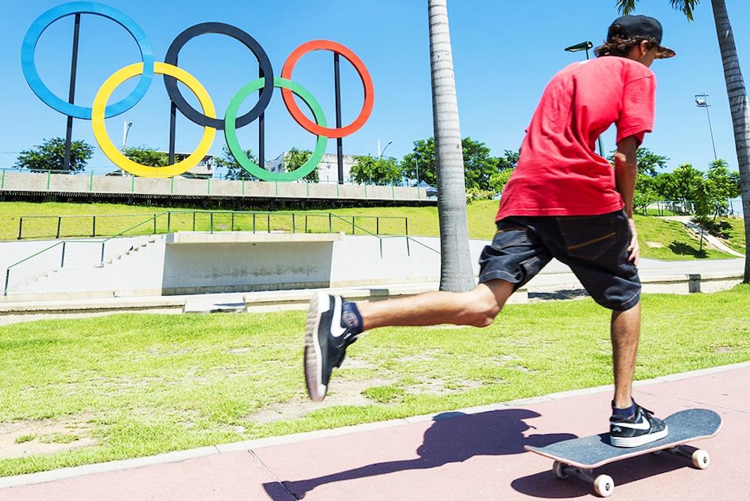 Skate Olympic Rings