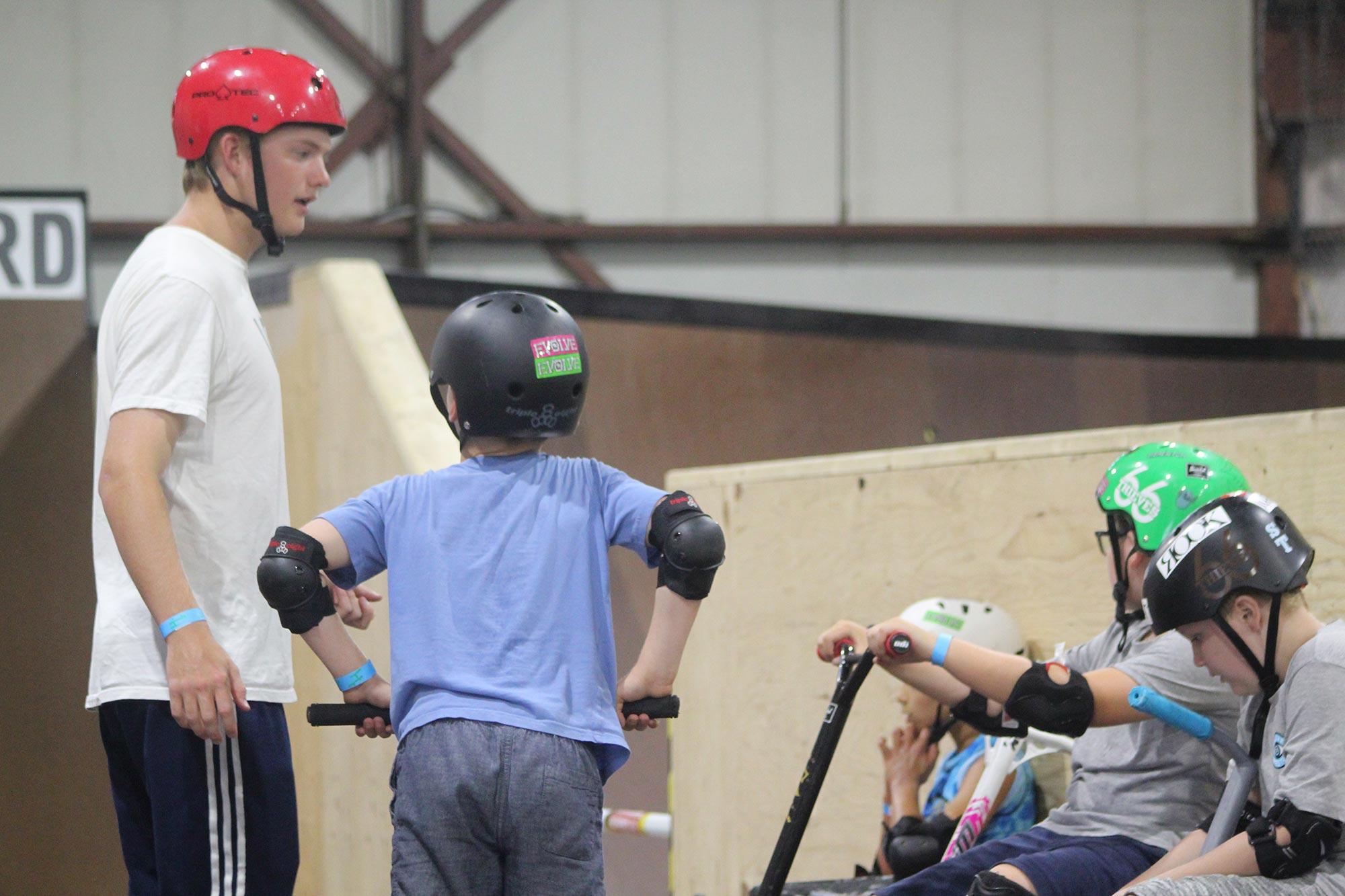 Indoor Skatepark Birthday Parties