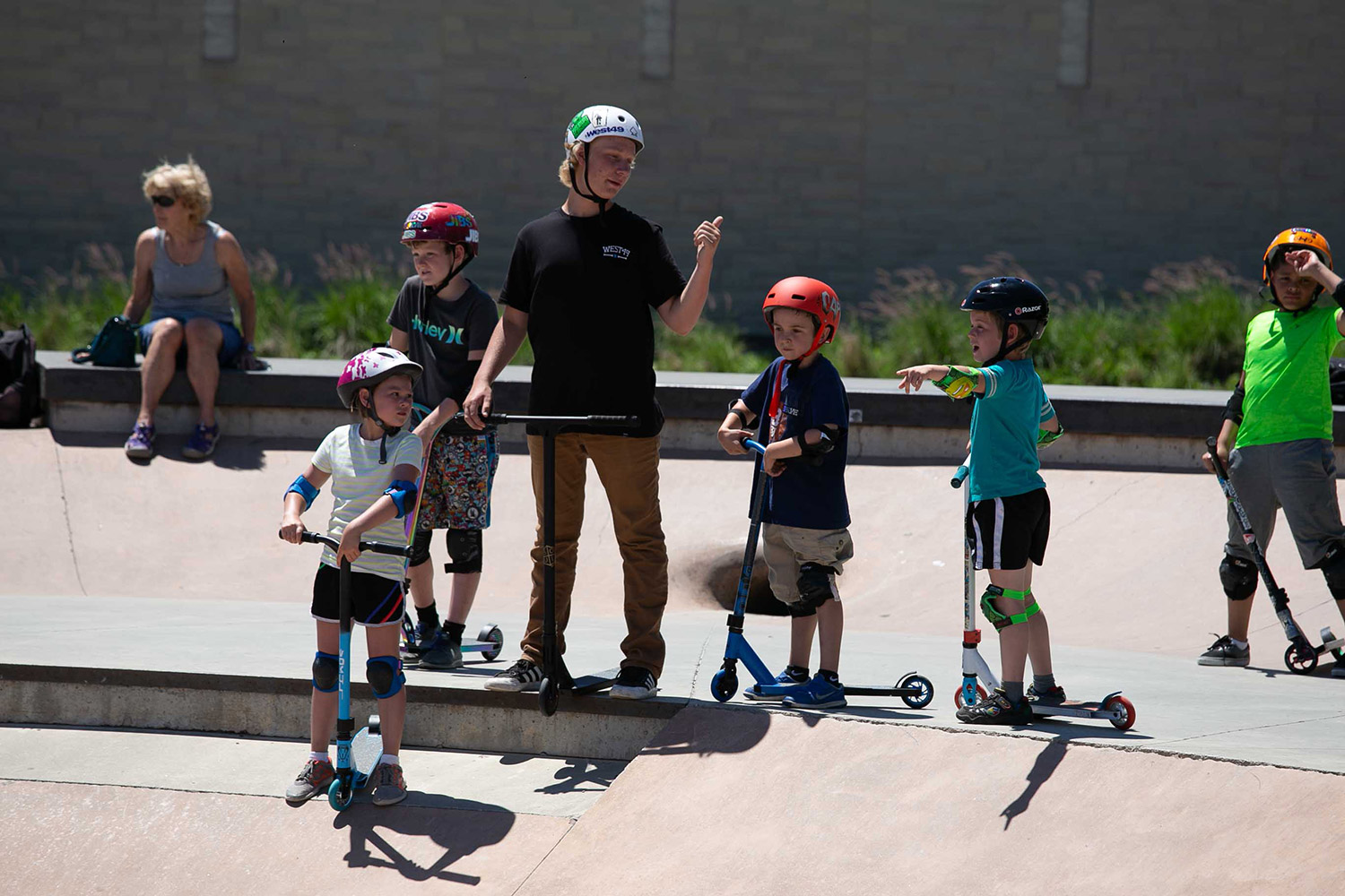Spring Scooter Lessons