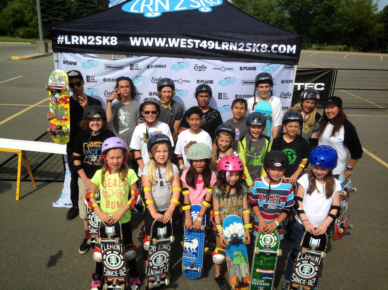 Group Skateboarding Lessons