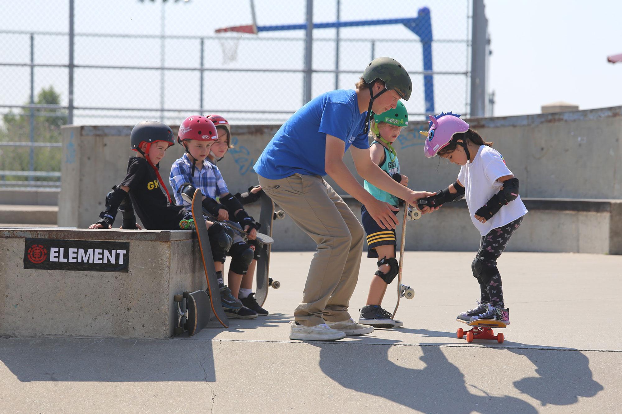 Spring Skateboarding Lessons
