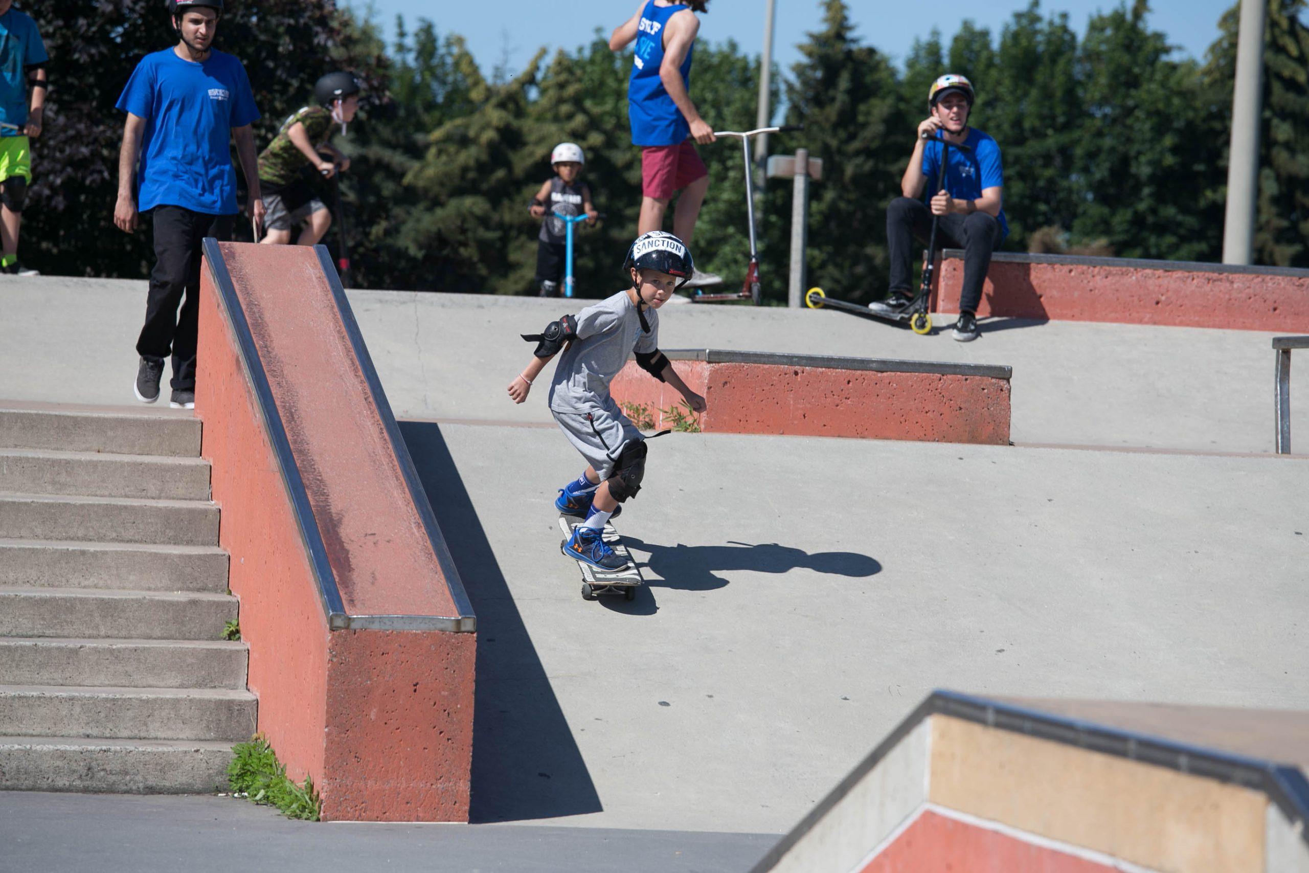 Markham skate camp