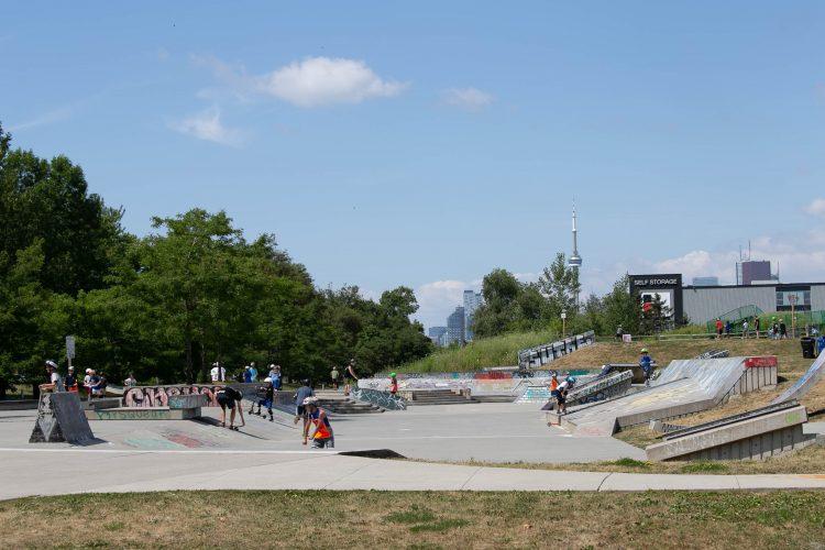 Ashbridges Bay Skatepark