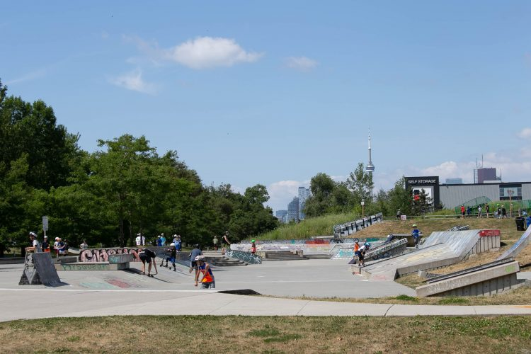 Ashbridges Bay Skatepark