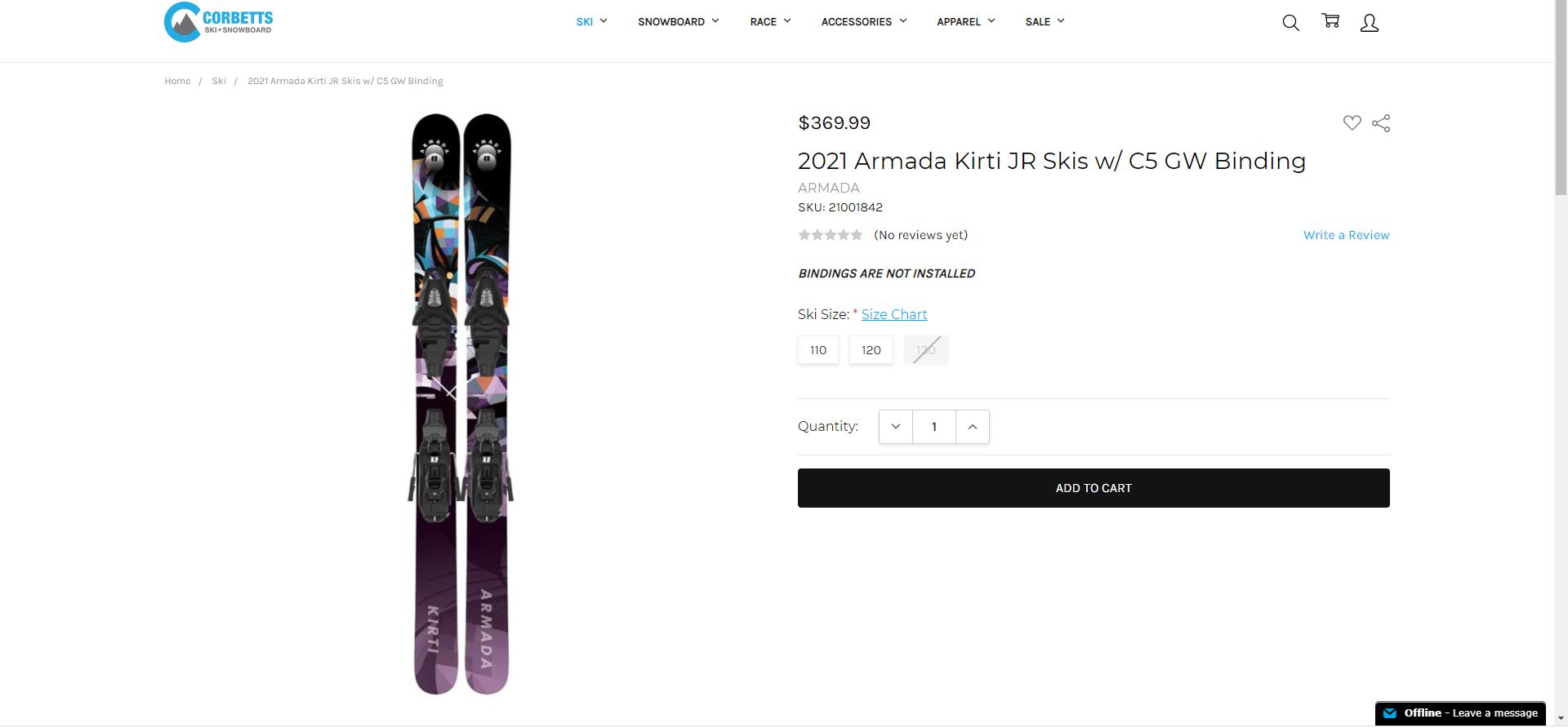 Best Skis 2021 - Armada Kirti