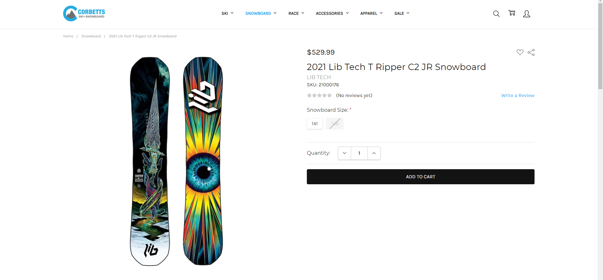 Best Snowboards 2021 - Lib Tech T Ripper