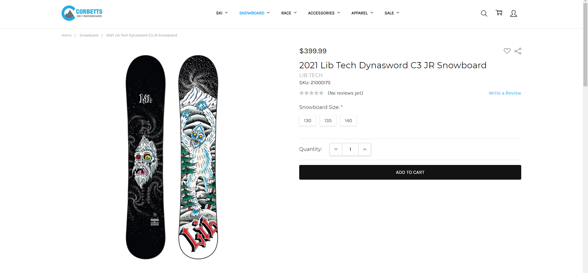 Best Snowboards 2021 - Lib Tech Dynasword C3 Jr