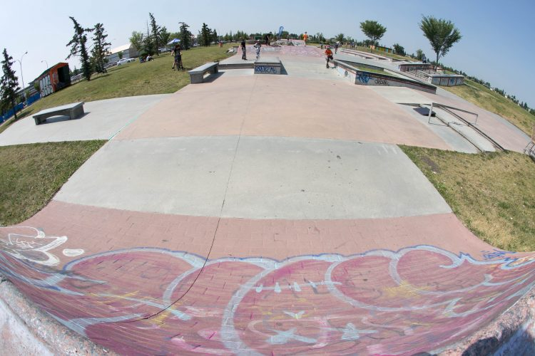 Chinook Winds Skatepark
