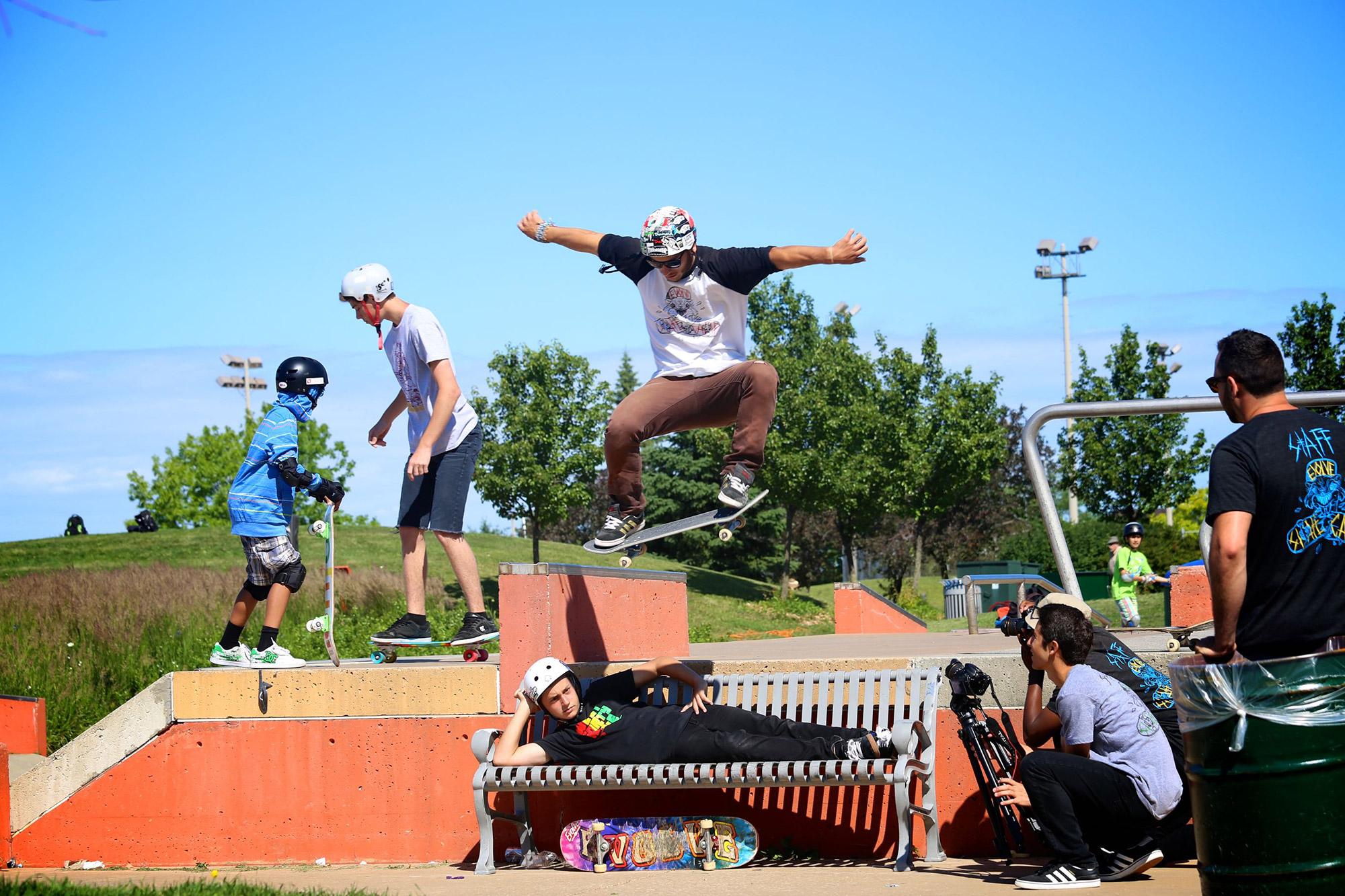 Learn to Skateboard + A Show