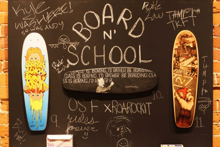 Oasis Skateboard Factory