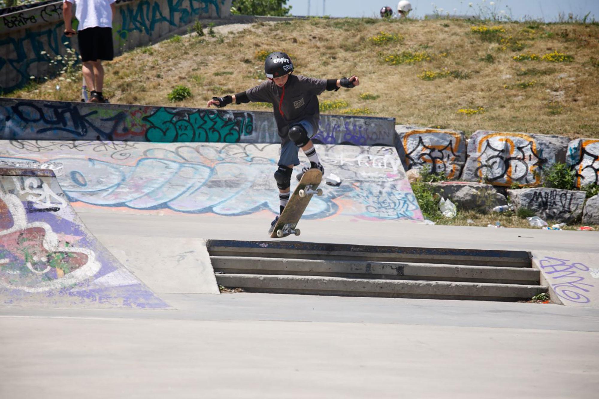 Skate camp tricks